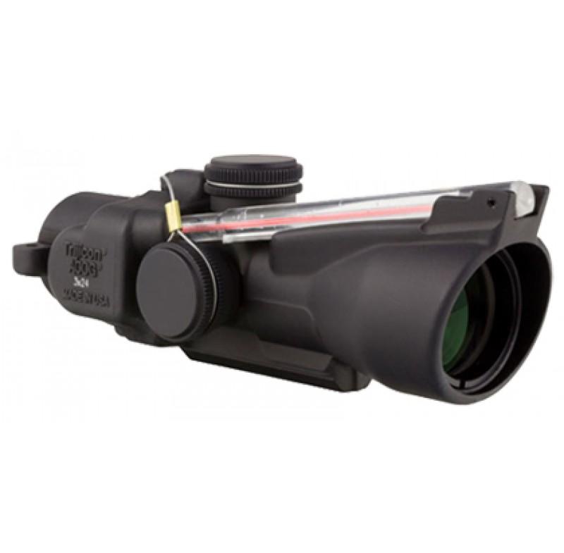 Trijicon 3x24 Low Compact ACOG Dual Illuminated Red Horseshoe Dot 7.62x39 Ballistic Reticle TA50-C-400238