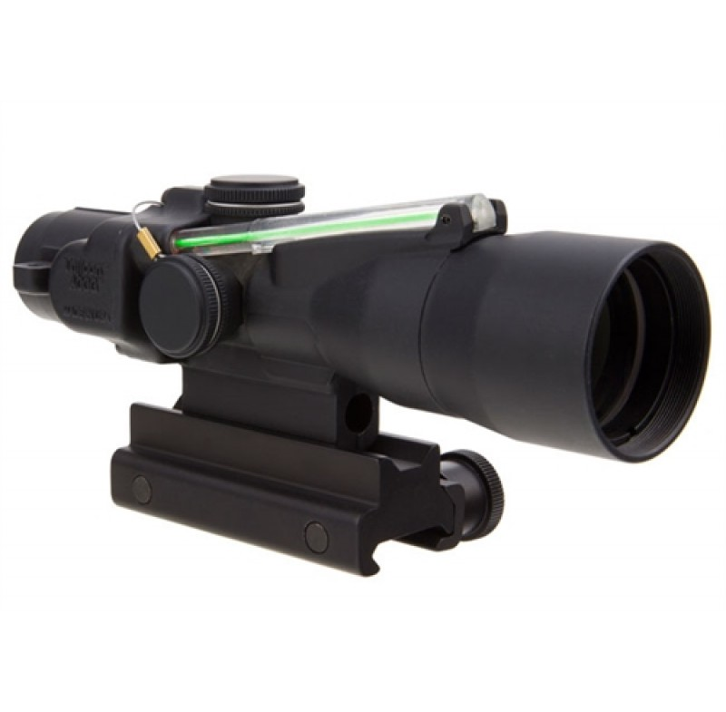 Trijicon 3x30 Compact ACOG Dual Illum Green Crosshair 308/168gr Win Ballistic w/ Colt Knob Thumbscre