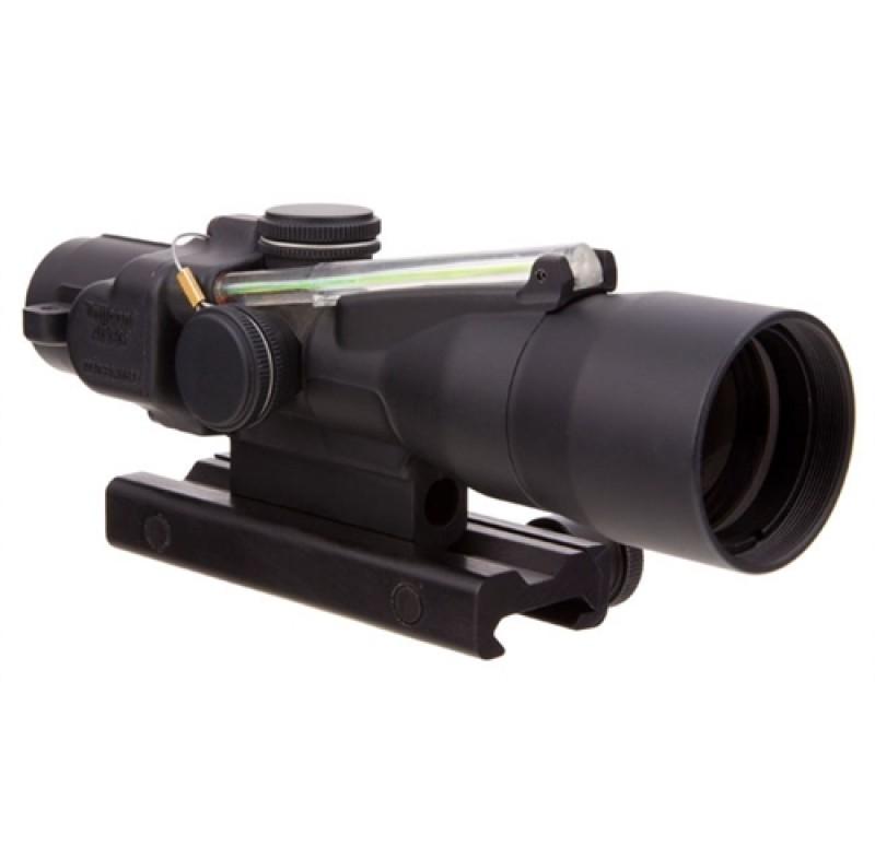 Trijicon 3x30 Compact ACOG Dual Illum Green Horseshoe/ Dot 7.62x39/123gr Ballistic w/ Colt Knob Thum