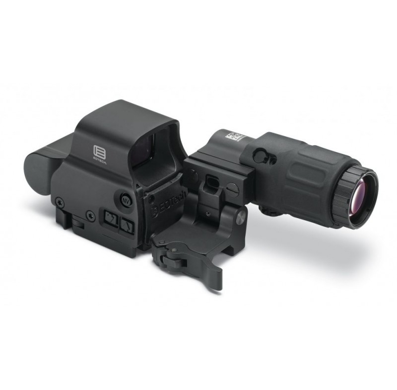 EOTech HHS-I Holo-Sight I w/ EXPS3-4 Red Dot Sight & G33 Magnifier