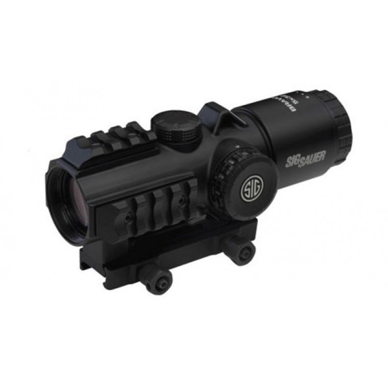 Sig Sauer Bravo5 5x32mm Prismatic Battle Red Dot Sight-SOB53102