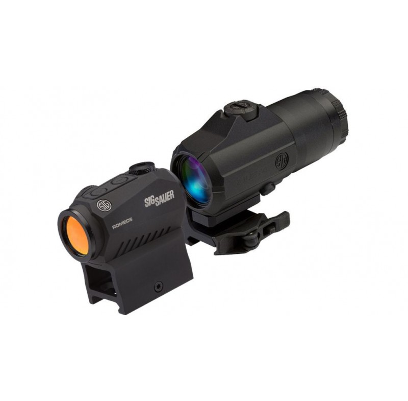 Sig Sauer Romeo5 Red Dot Sight with Juliet3 3x Magnifier Combo SORJ53101